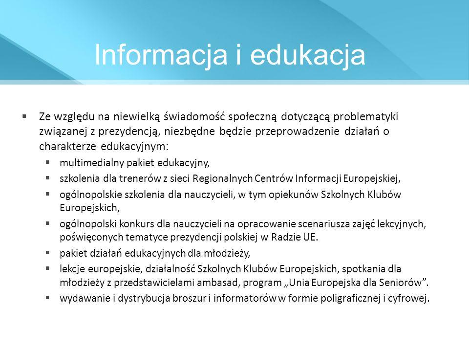 Informacja i edukacja