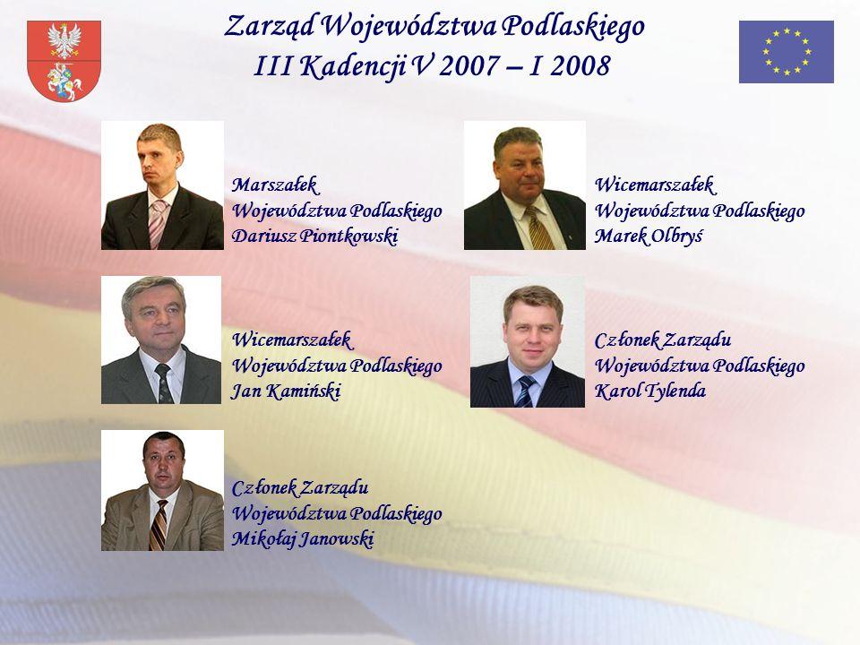 Zarząd Województwa Podlaskiego