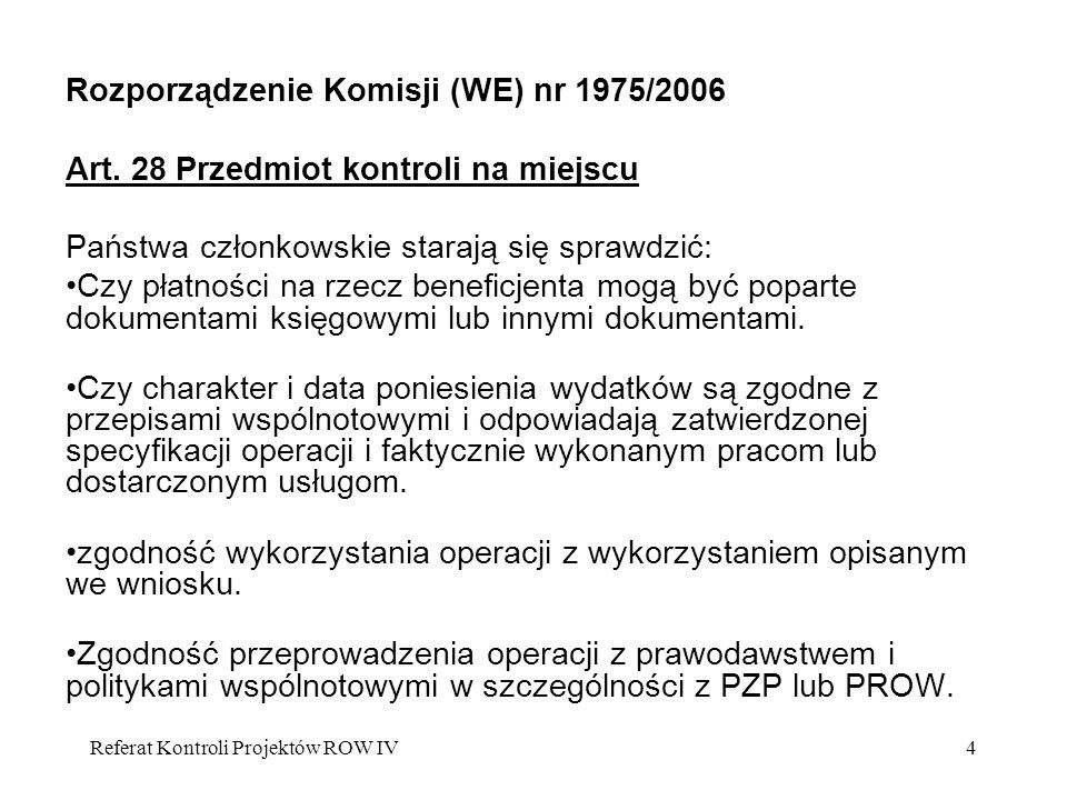 Rozporządzenie Komisji (WE) nr 1975/2006