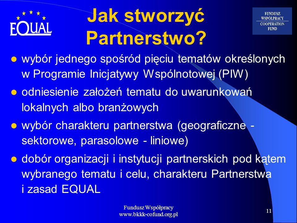 Jak stworzyć Partnerstwo