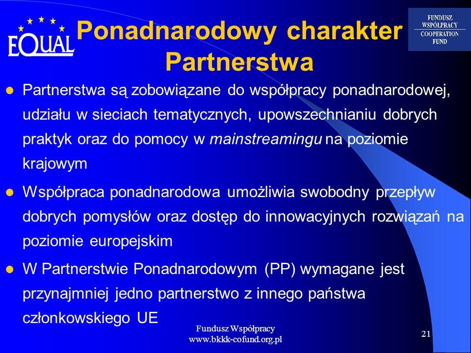 Ponadnarodowy charakter Partnerstwa