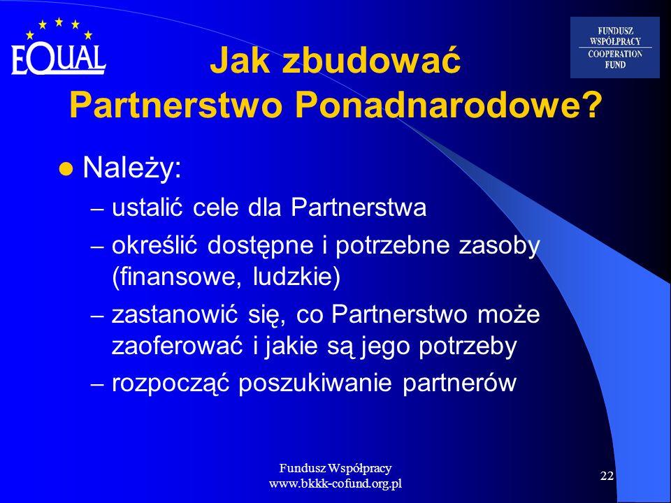 Jak zbudować Partnerstwo Ponadnarodowe