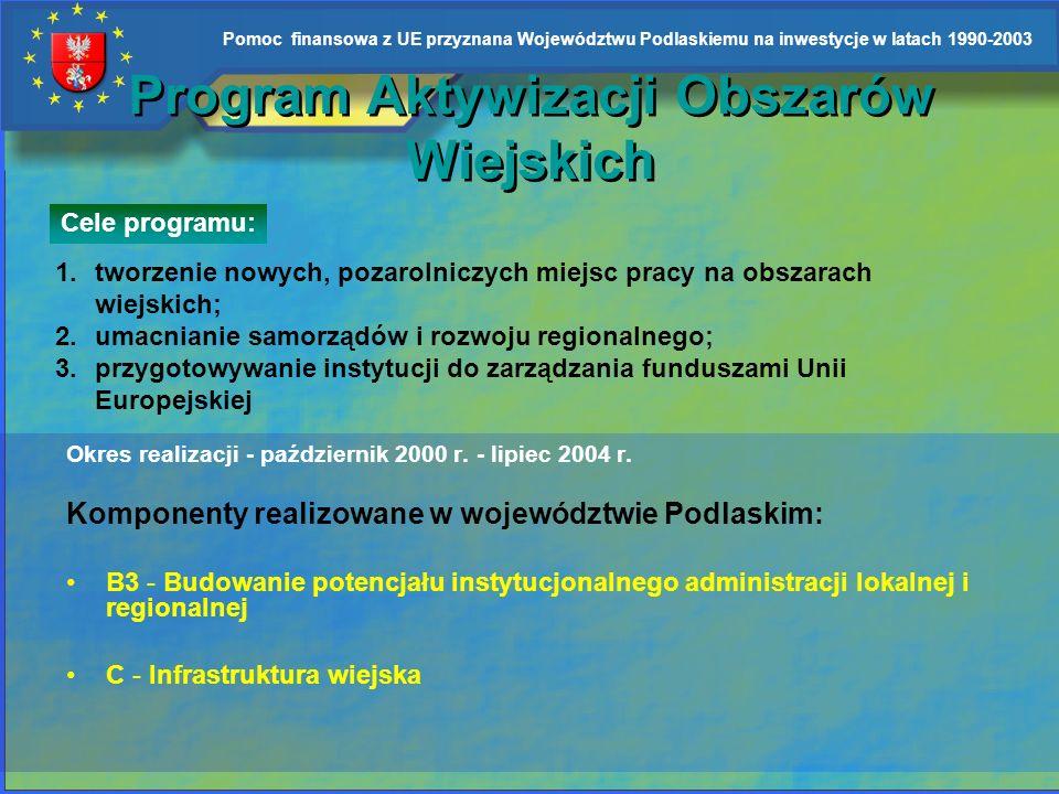 Program Aktywizacji Obszarów Wiejskich