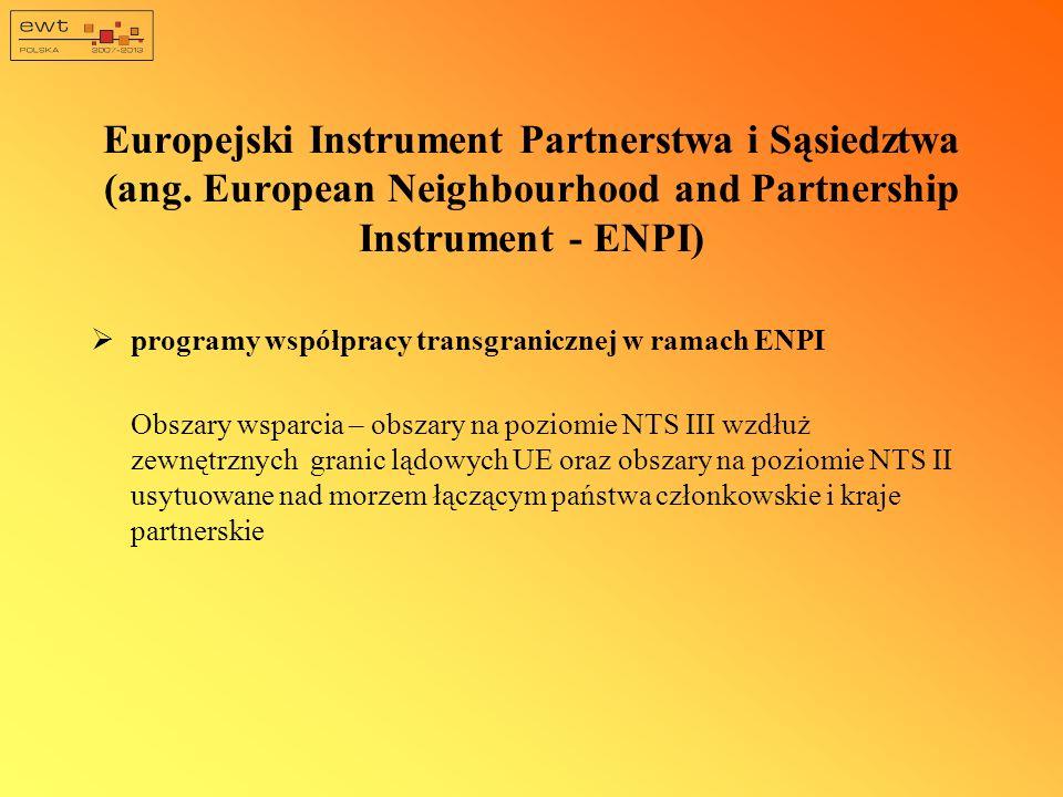 Europejski Instrument Partnerstwa i Sąsiedztwa (ang