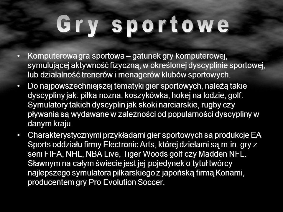 Gry sportowe
