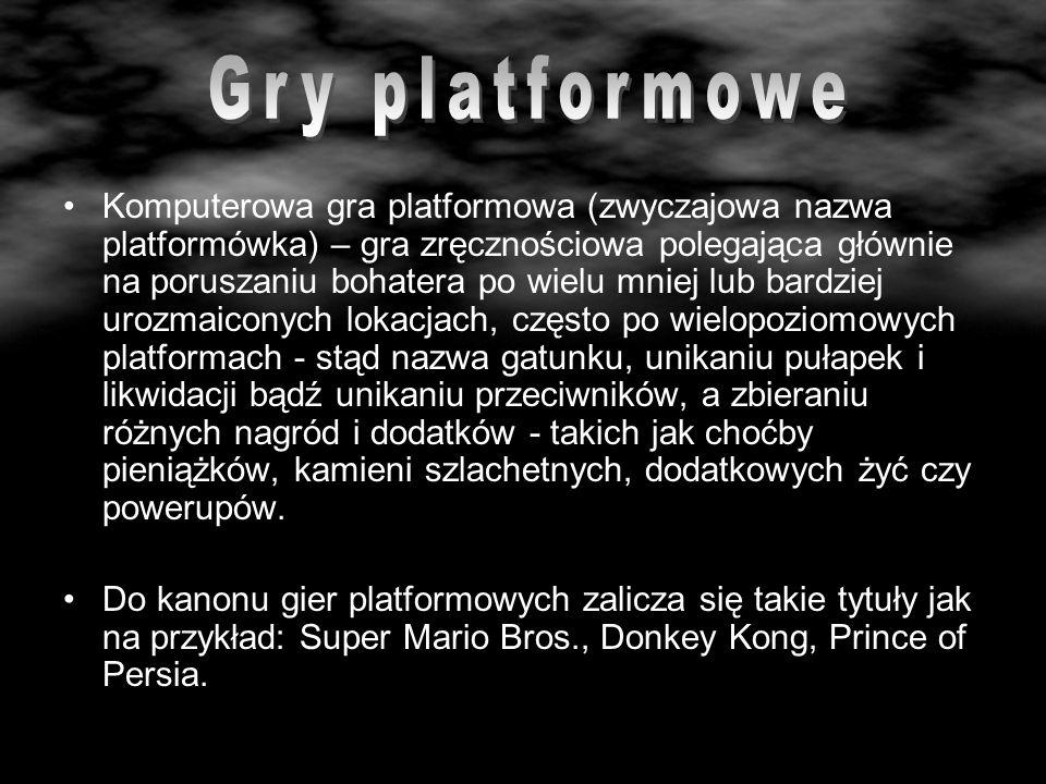 Gry platformowe
