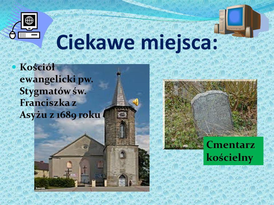 Ciekawe miejsca: Cmentarz kościelny