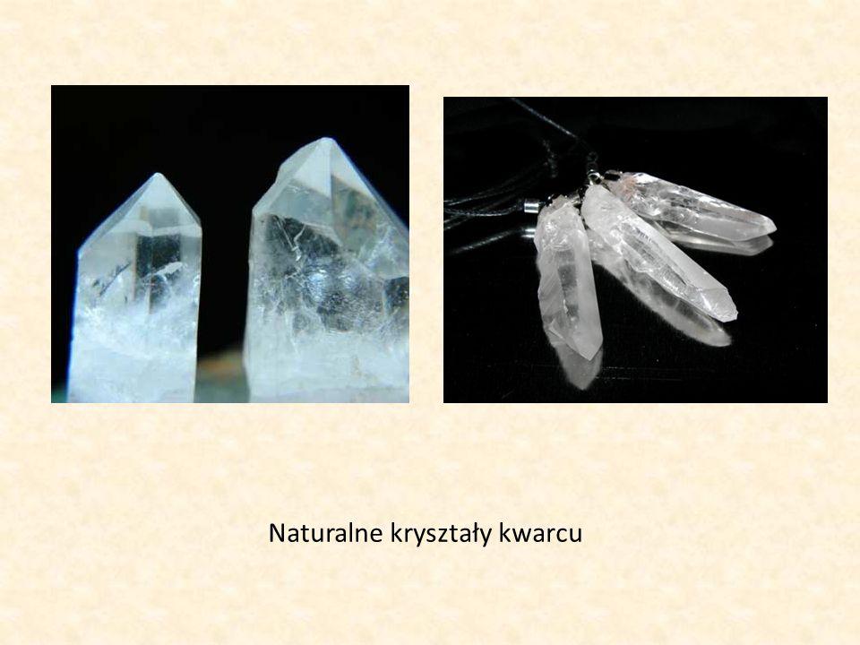 Naturalne kryształy kwarcu