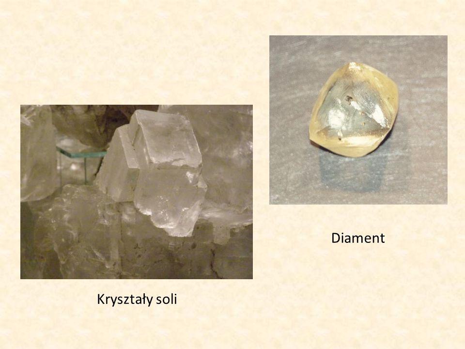 Diament Kryształy soli