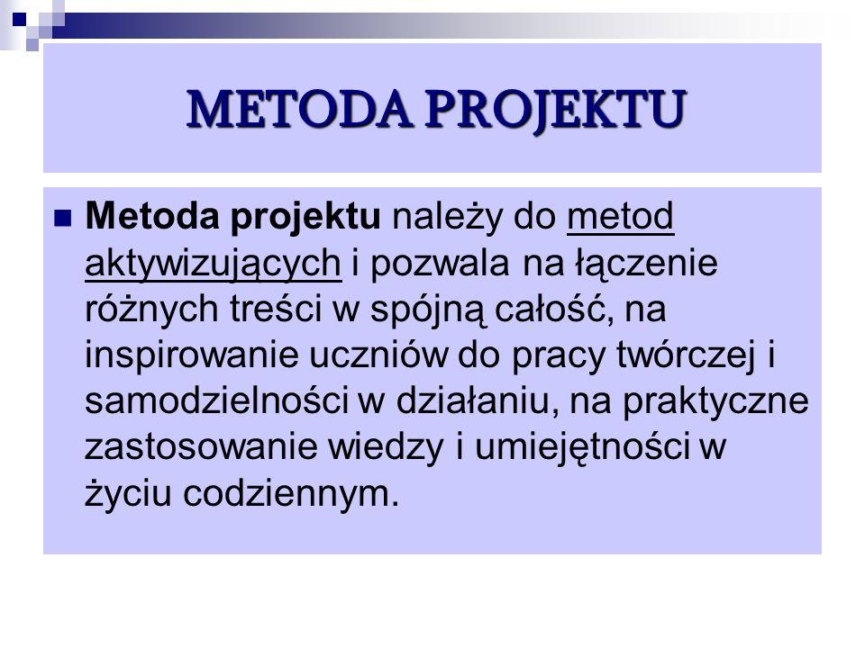 METODA PROJEKTU