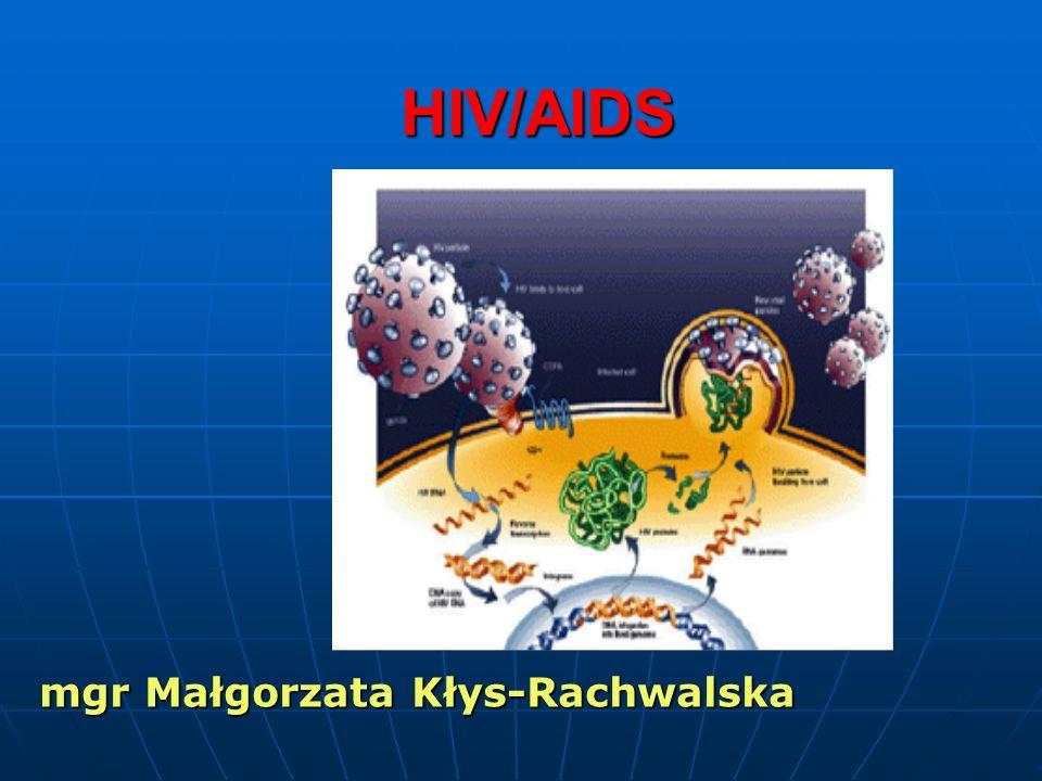 HIV/AIDS mgr Małgorzata Kłys-Rachwalska