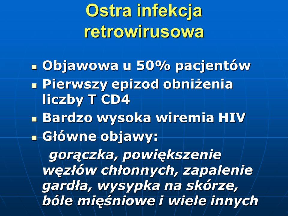 Ostra infekcja retrowirusowa