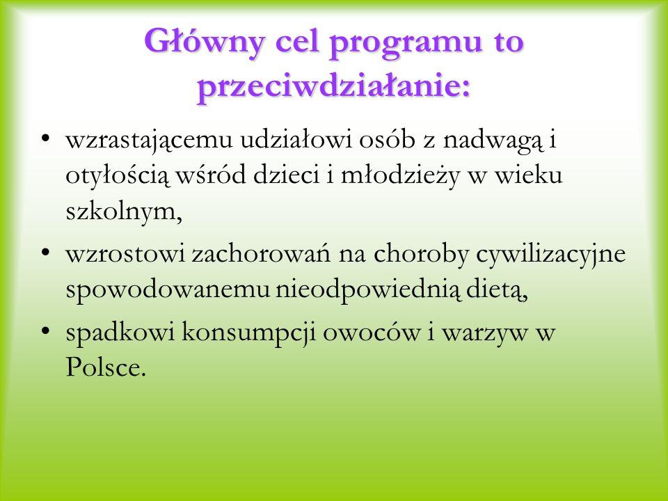 Główny cel programu to przeciwdziałanie:
