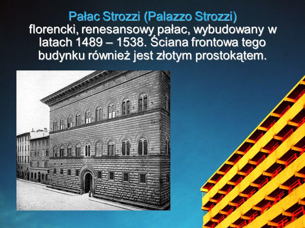 Pałac Strozzi (Palazzo Strozzi)