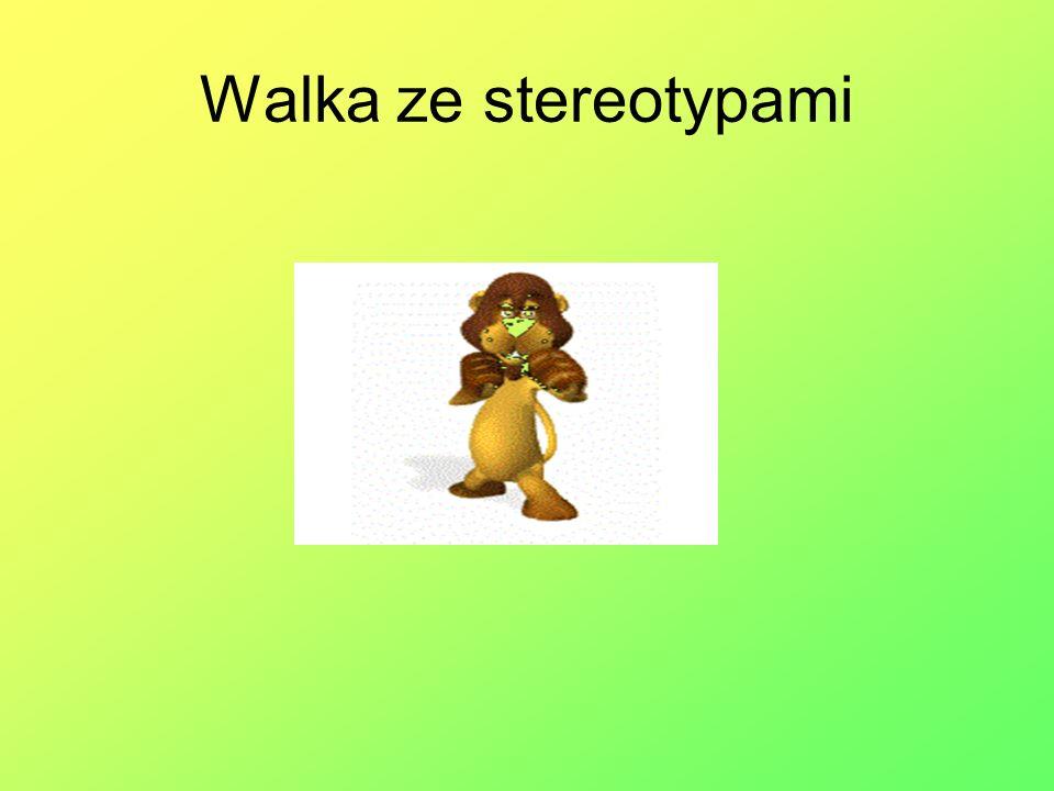 Walka ze stereotypami