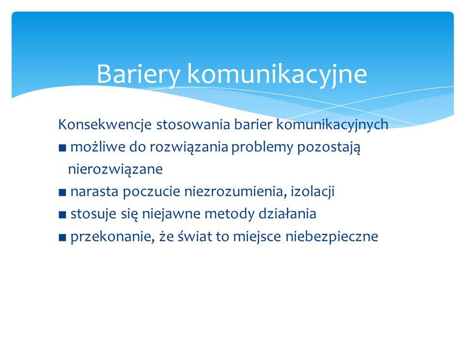 Bariery komunikacyjne