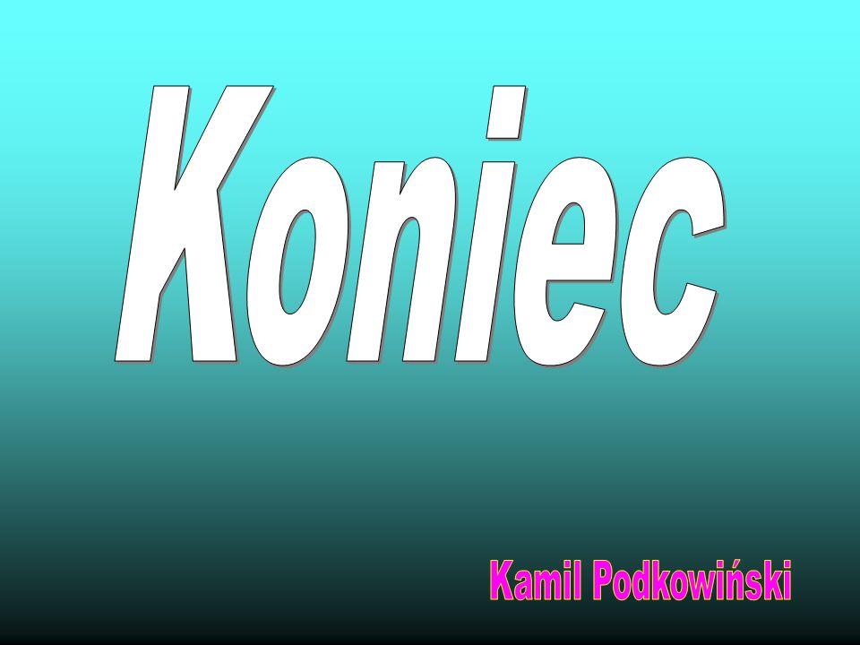 Koniec Kamil Podkowiński
