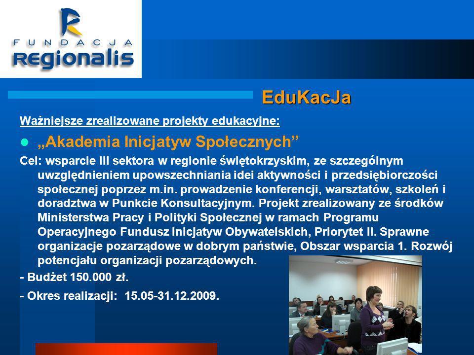 """EduKacJa """"Akademia Inicjatyw Społecznych"""