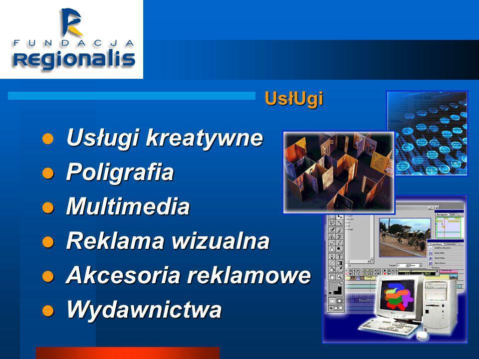 Usługi kreatywne Poligrafia Multimedia Reklama wizualna
