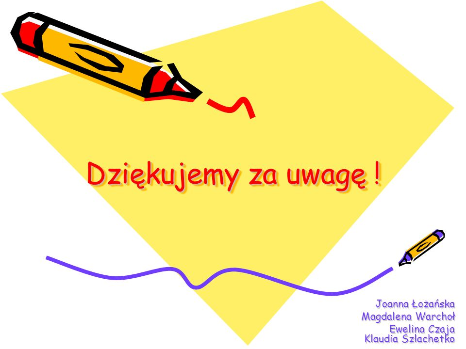 Joanna Łożańska Magdalena Warchoł Ewelina Czaja Klaudia Szlachetko