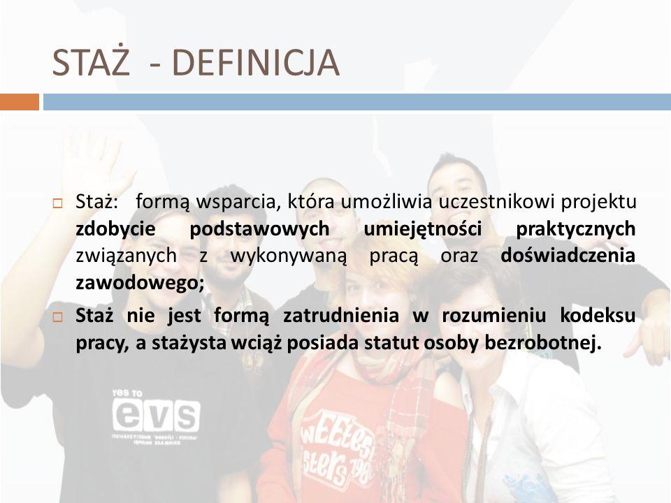 2010-11-26STAŻ - DEFINICJA.