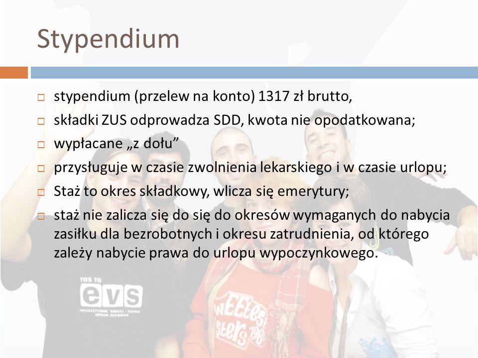 Stypendium stypendium (przelew na konto) 1317 zł brutto,