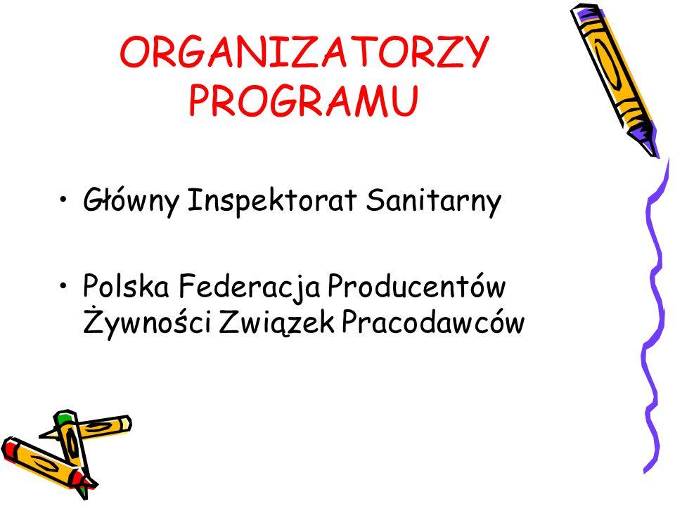 ORGANIZATORZY PROGRAMU