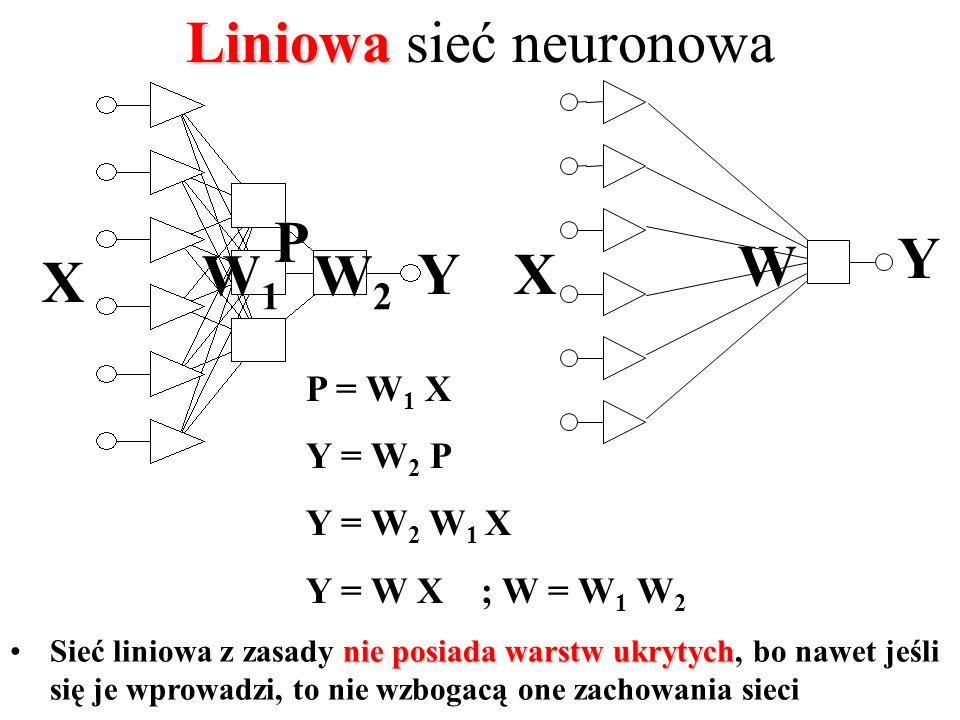 Liniowa sieć neuronowa