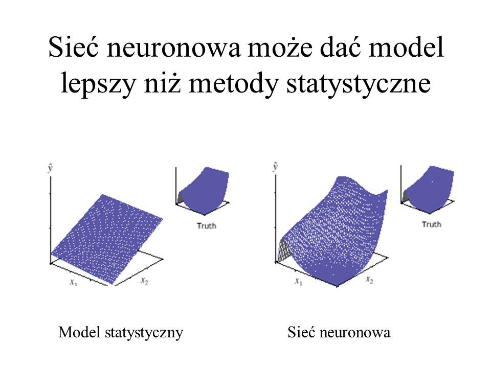 Sieć neuronowa może dać model lepszy niż metody statystyczne
