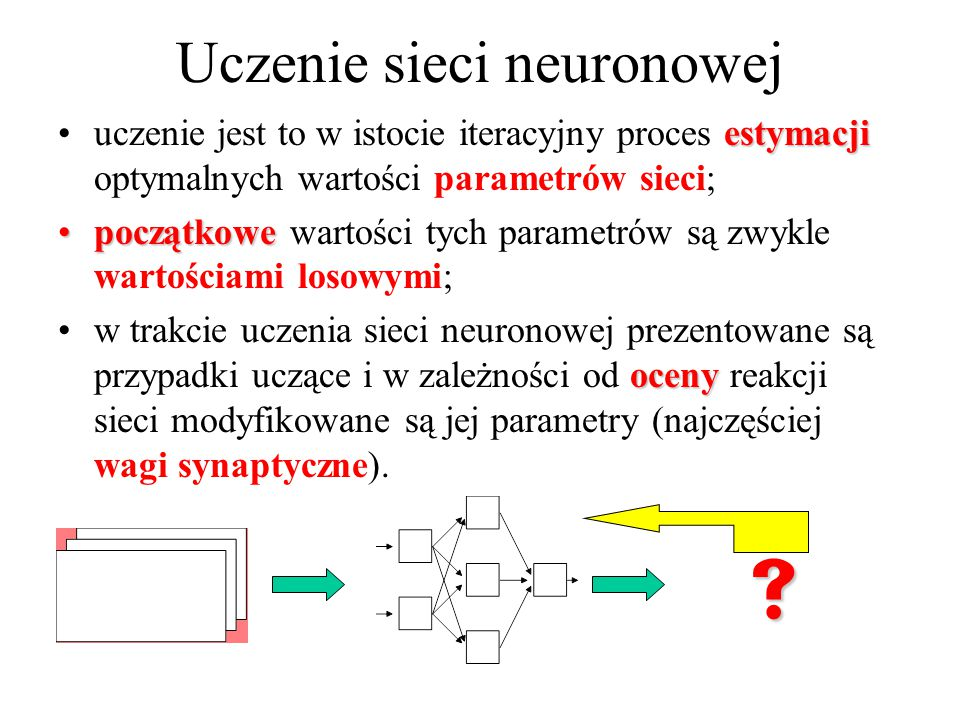Uczenie sieci neuronowej