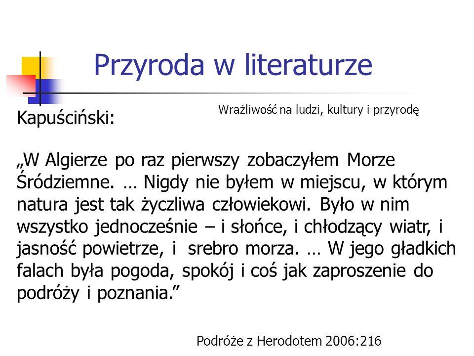 Przyroda w literaturze