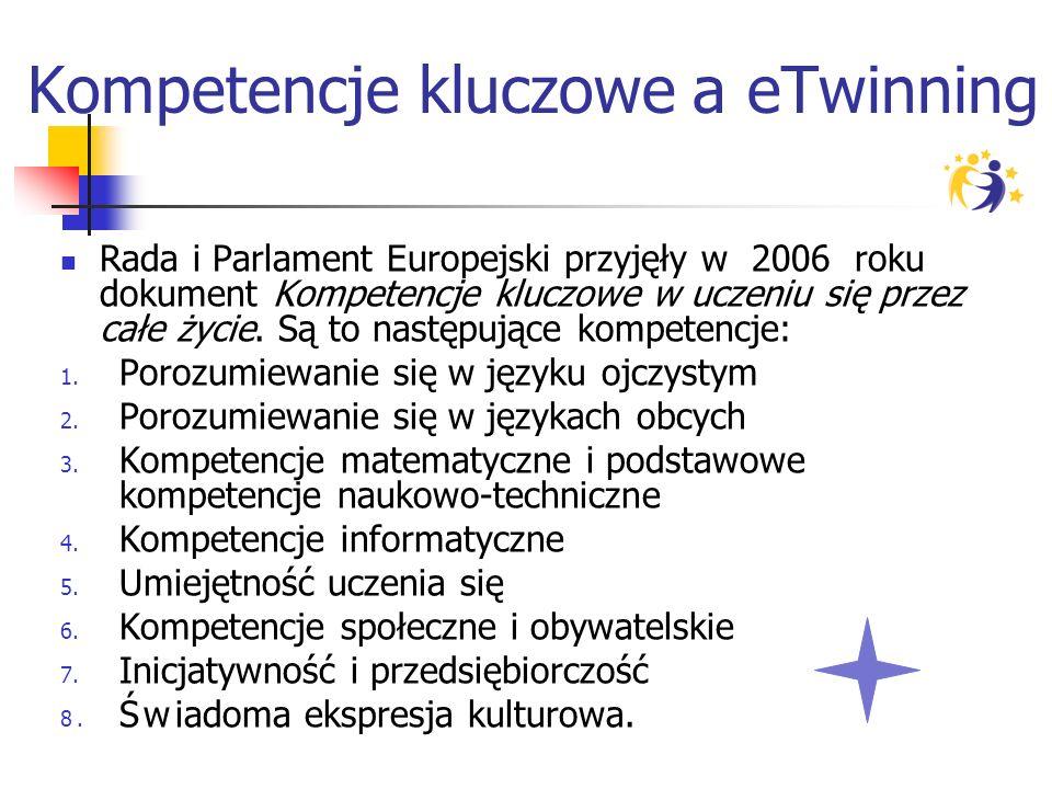 Kompetencje kluczowe a eTwinning