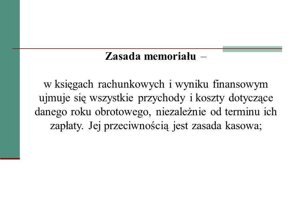 Zasada memoriału –