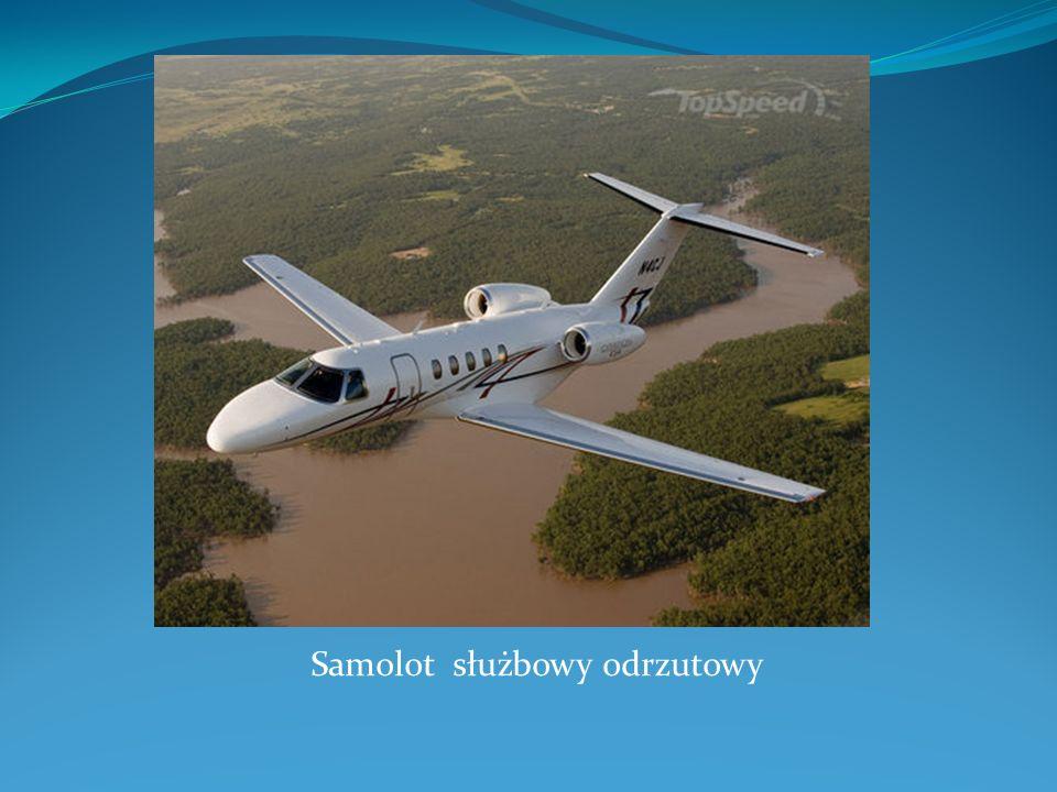 Samolot służbowy odrzutowy