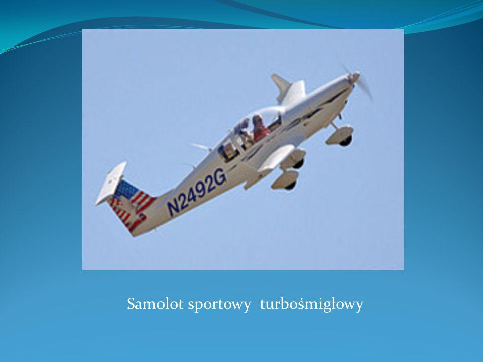 Samolot sportowy turbośmigłowy