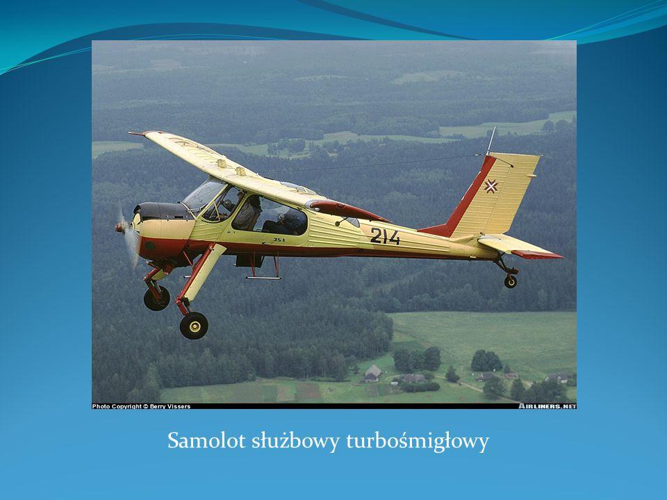 Samolot służbowy turbośmigłowy