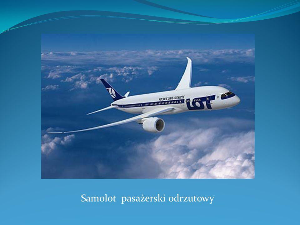 Samolot pasażerski odrzutowy