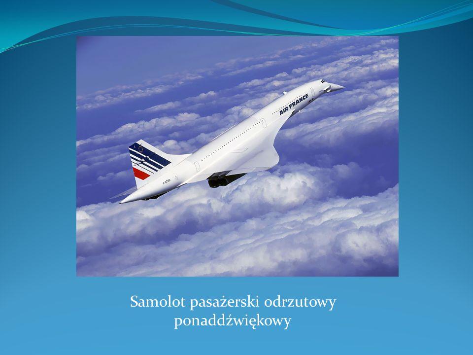 Samolot pasażerski odrzutowy ponaddźwiękowy