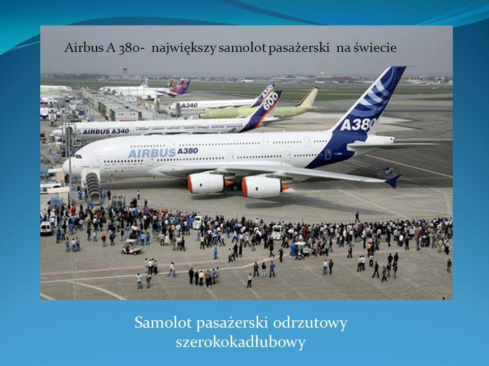 Samolot pasażerski odrzutowy szerokokadłubowy