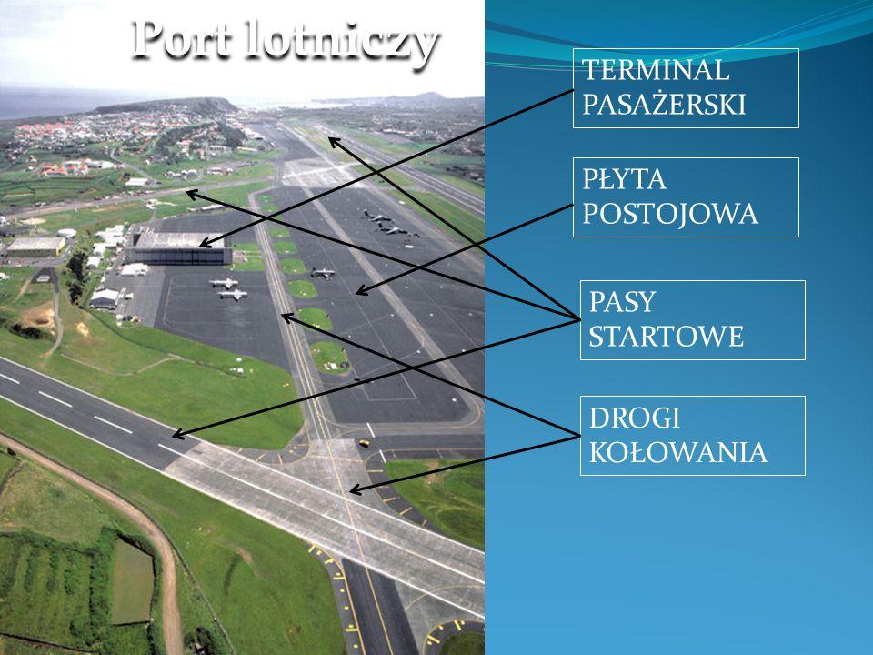 Port lotniczy TERMINAL PASAŻERSKI PŁYTA POSTOJOWA PASY STARTOWE