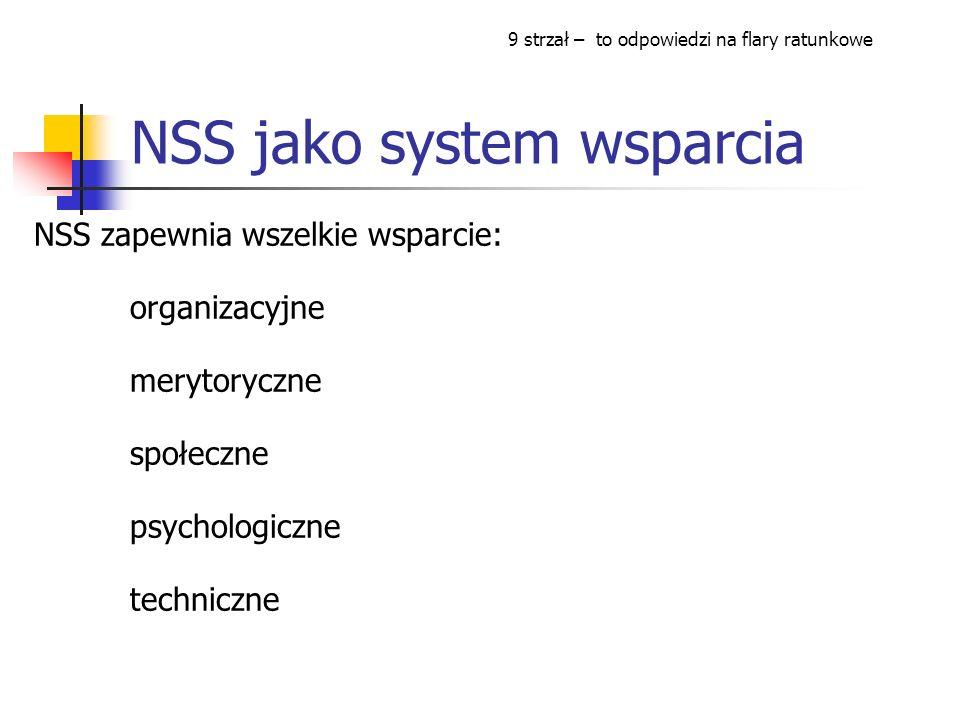 NSS jako system wsparcia