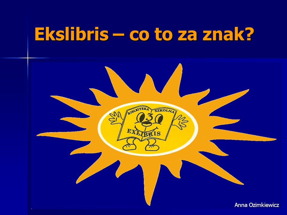 Ekslibris – co to za znak