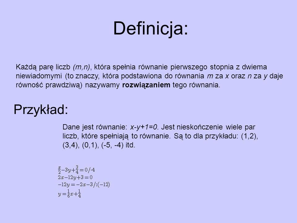 Definicja: