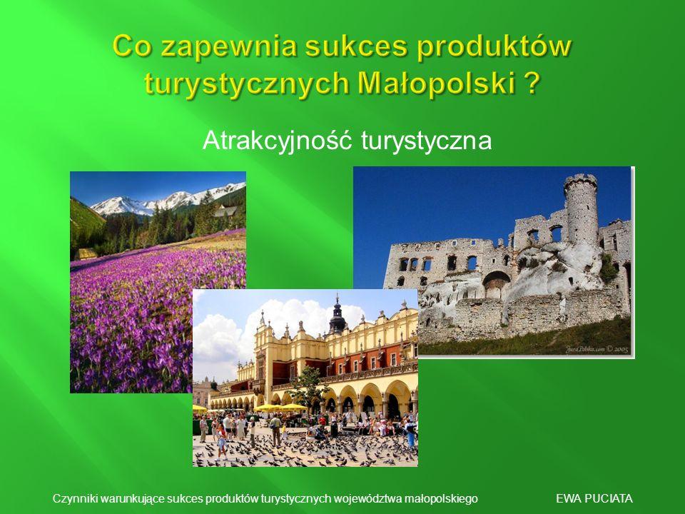 Co zapewnia sukces produktów turystycznych Małopolski