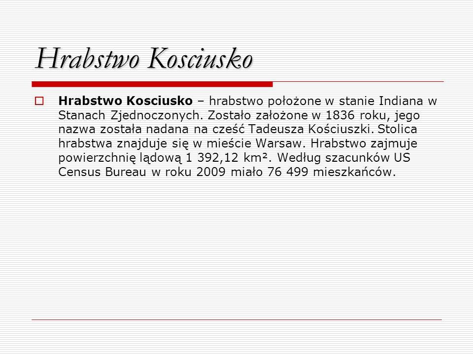 Hrabstwo Kosciusko
