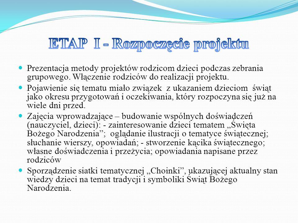 ETAP I - Rozpoczęcie projektu