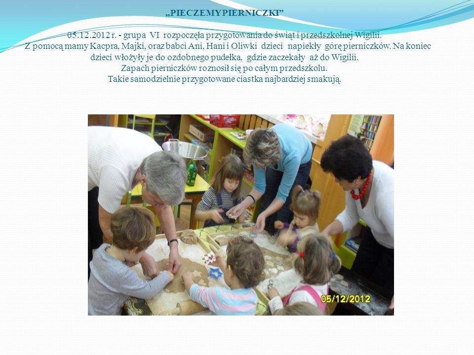 """""""PIECZEMY PIERNICZKI 05. 12. 2012 r"""