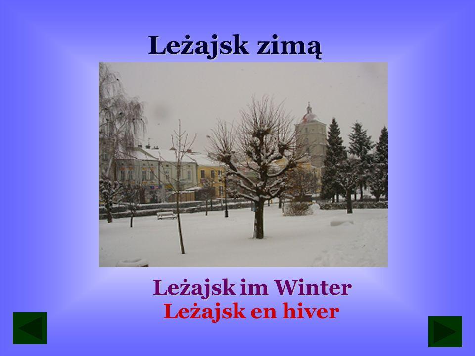 Leżajsk zimą Leżajsk im Winter Leżajsk en hiver