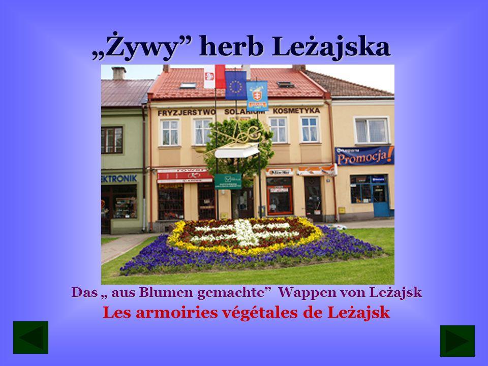 """""""Żywy herb Leżajska Les armoiries végétales de Leżajsk"""