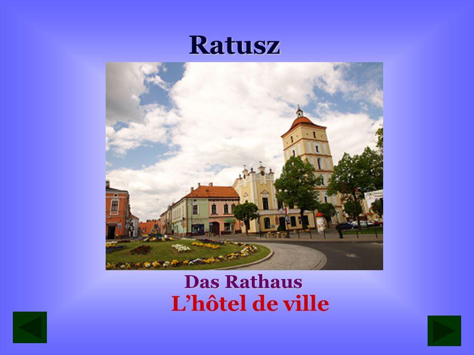 Ratusz Das Rathaus L'hôtel de ville